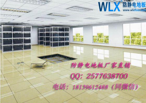 未来星HDG.600.35.CQ.D600*600*35西安防静电地板pvc防静电地板厂家