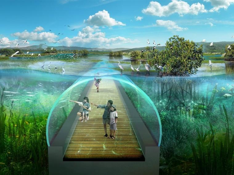 珠海横琴国家湿地公园