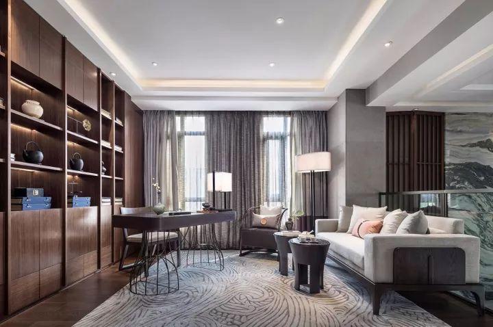 280m²新中式别墅,演绎东方极致美学!_15