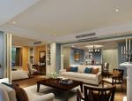 套房客厅3D模型下载
