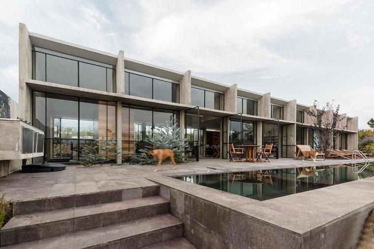墨西哥混凝土AT住宅