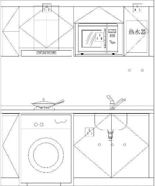 [干货]28㎡小户型3房3卫,设计师开挂了?_14