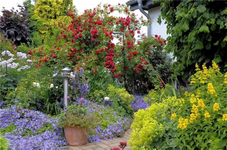 植物配置这样做,你也能打造不一样的秘密花园