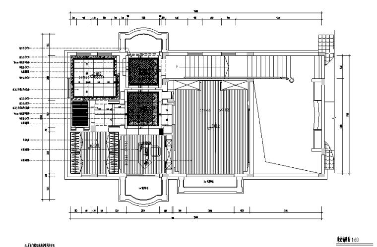 银湖别墅家装设计完整施工图(高清效果图)