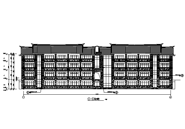 [深圳]全球知名奢华度假酒店建筑施工图(16年全套打印)