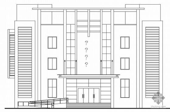[龙湾]某四层工商所建筑结构施工图