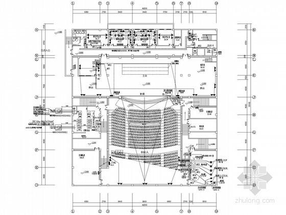 [黑龙江]高等学校强弱电施工图纸(甲级设计院)