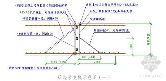 某高层建筑大体积混凝土工程施工方案