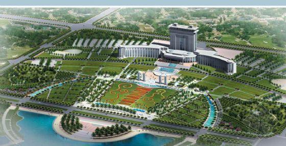 新疆石河子市政广场设计方案