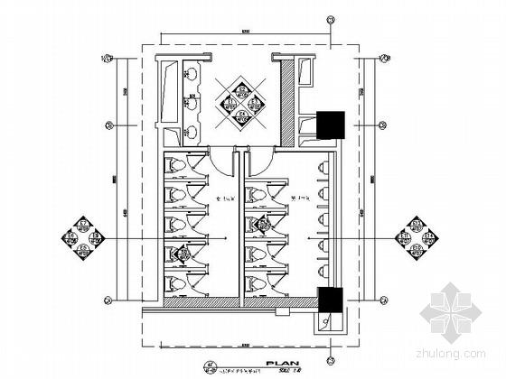 [昆山]五星级酒店卫生间室内装饰设计施工图