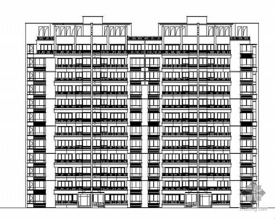 某十一层国际花园别墅住宅建筑施工图