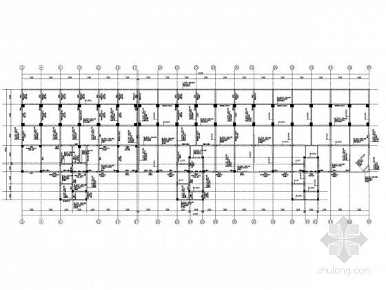 小区11层框架剪力墙结构施工图(含商业部分)