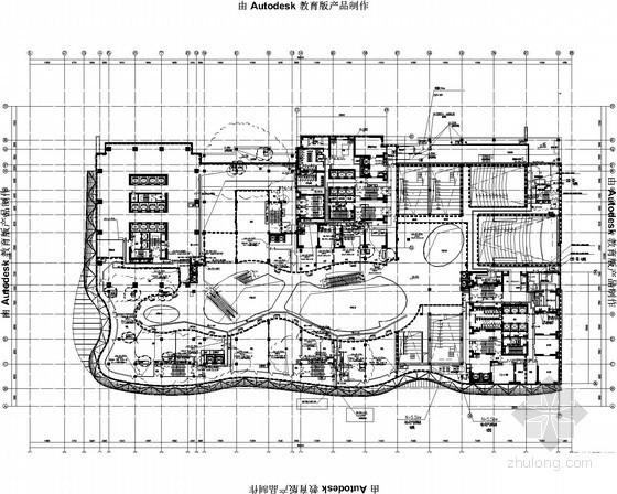 [辽宁]知名大型商业中心电气施工图(大院设计)