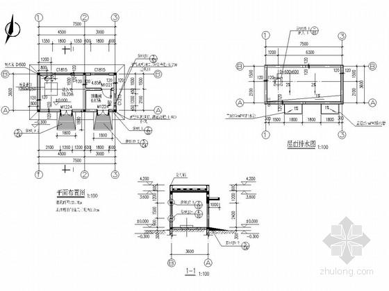 水源井泵房施工图