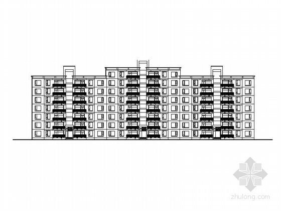 [上海]三层高档别墅及普通住宅楼建筑施工图