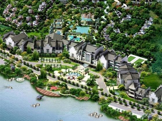 [河南]国际文化商旅度假区景观设计方案
