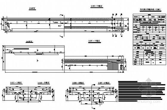 [广东]32米有砟轨道后张法预应力混凝土简支箱梁图纸34张(双线)