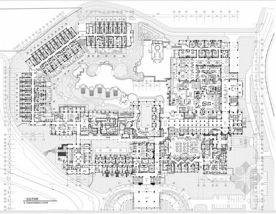 [云南]国家旅游度假区内宁静奢华五星级商务酒店室内设计方案