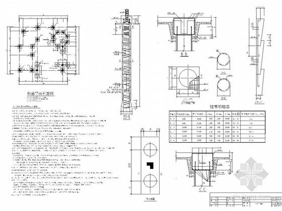 [浙江]三层框架结构小别墅结构施工图(含阁楼)