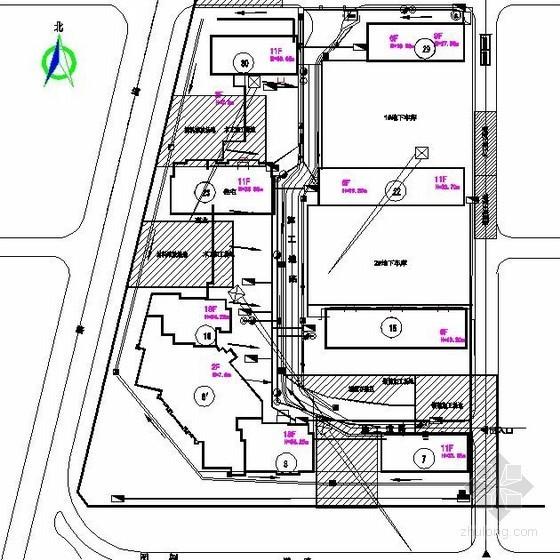 [河北]住宅小区施工组织设计(平面布置图)