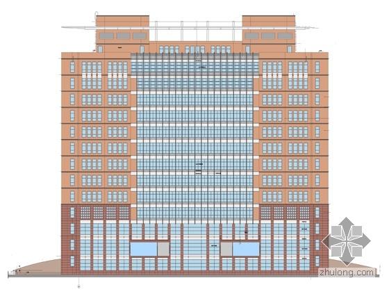 [北京]某工业大学综合科学楼建筑方案设计