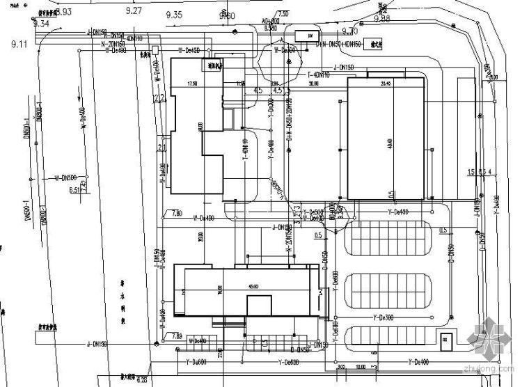 南京某工业园区路灯所管综施工图