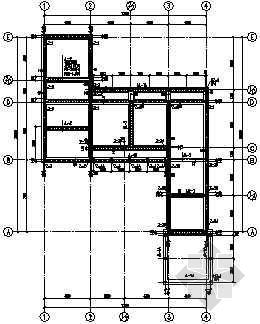 V型滤池结构图纸资料下载-上海某高档别墅(E型)全套结构图纸