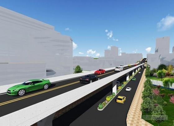 [河南]城市快速通道工程争创市政金杯奖创优计划60页