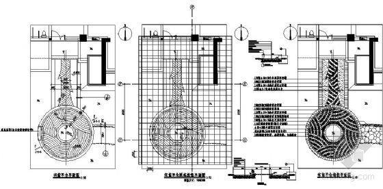 宅前景观平台节点图纸