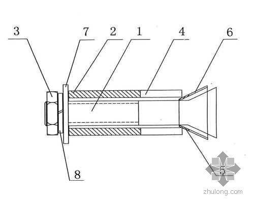 新型膨胀螺丝说明书(专利技术)