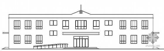 [乌鲁木齐]某二层小学教学楼建筑扩初图
