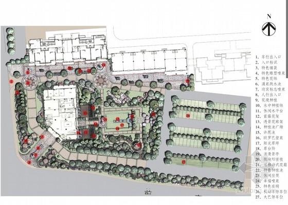 [北京]欧罗巴风情居住区售楼处景观概念设计方案