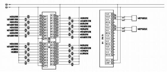 水处理PLC控制原理图