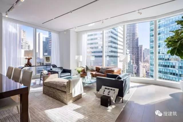 """万科在纽约开发的""""新地标住宅"""",高200米,1000-1600平方英尺的_15"""
