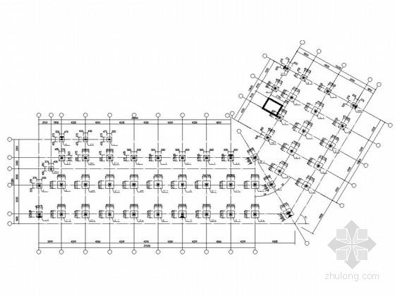 某造船厂四层框架结构宿舍楼结构施工图