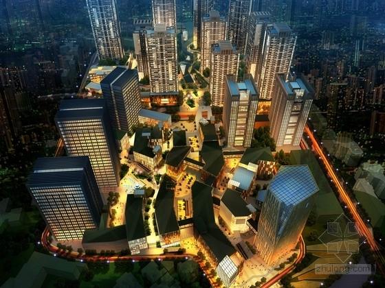 [重庆]围合式空间城市综合体规划设计方案文本(设计精彩 推荐参考)