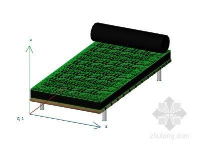 花式躺椅 ArchiCAD模型