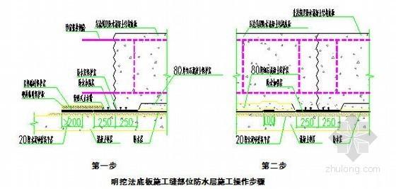[北京]地铁工程细部构造防水施工工法