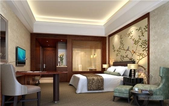 [甘肃]园林式星级宾馆室内装修设计效果图