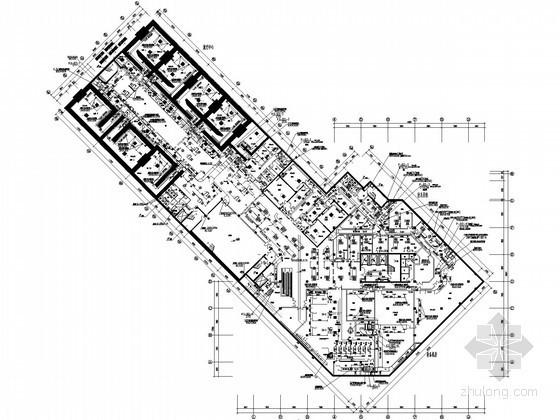 [上海]医院医技综合楼空调通风设计全套施工图