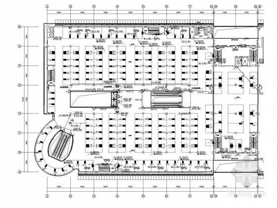 [济南]二十四层大型知名综合楼全套电气施工图纸228张(含完整变配电系统)