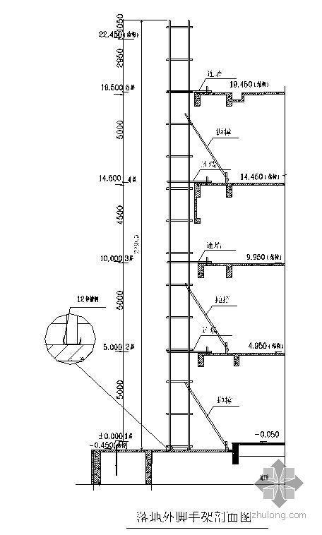 浙江某超高层脚手架施工专项方案