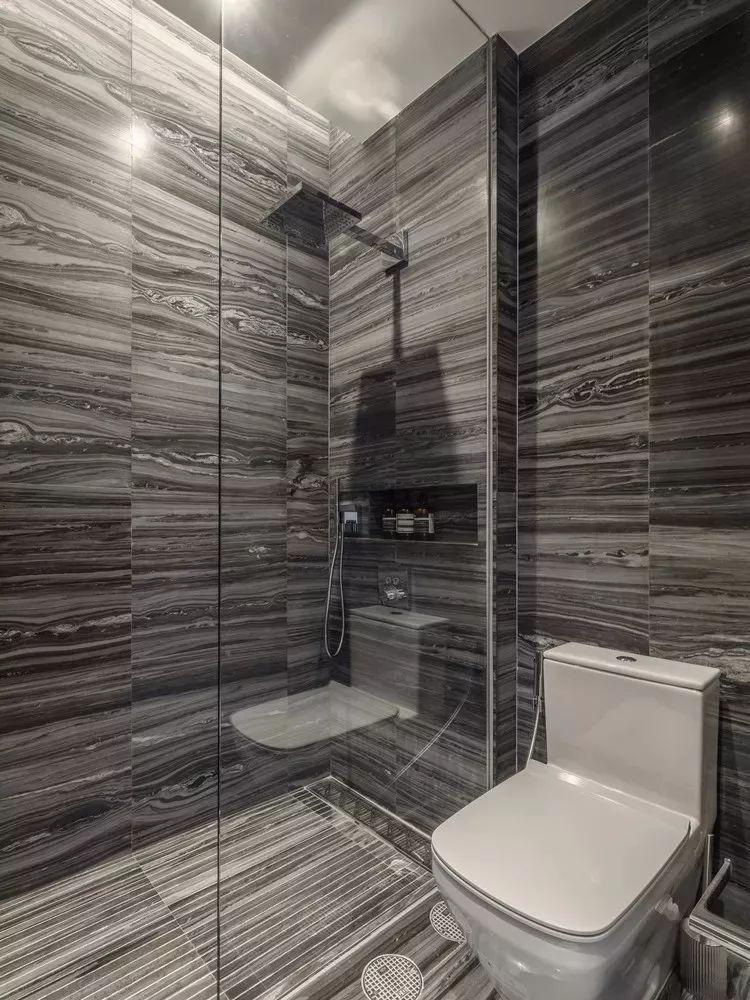 室内设计 130㎡的单身公寓,设计感十足_44