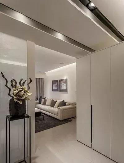开放式家装设计案例,简约素雅_1