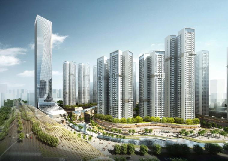 [深圳]恒大坪山新城商业文化中心设计方案