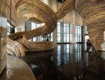 【办公空间案例】中庭摩天楼门厅