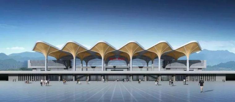 结构单元体与空间塑造,从国内几个高铁站的设计说起_19