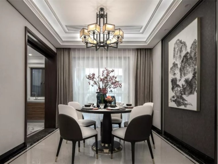 佛山新中式风格的住宅