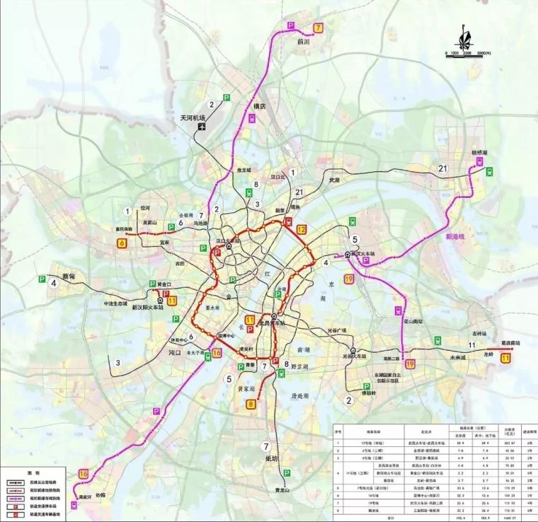 武汉新规划的4条市域快线与温州S1线,有哪些区别?_5