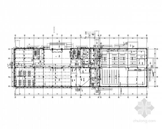 [北京]数据中心综合楼给排水施工图